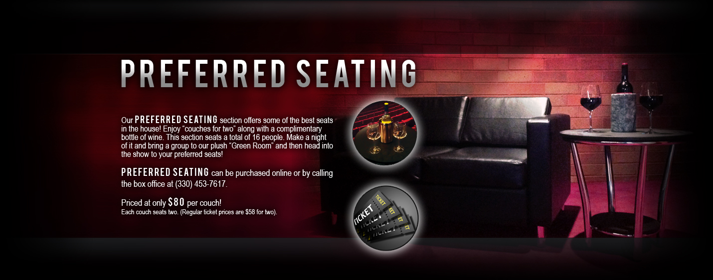 Players Guild Theatre Preferred Seating